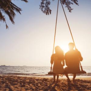 Honeymoon cancun beach