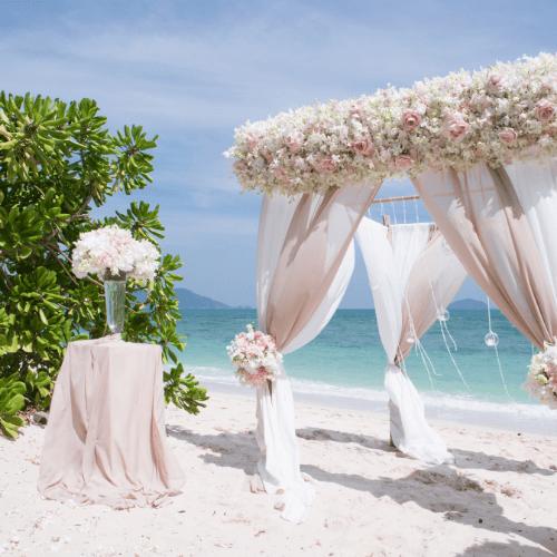 Beach wedding in BH